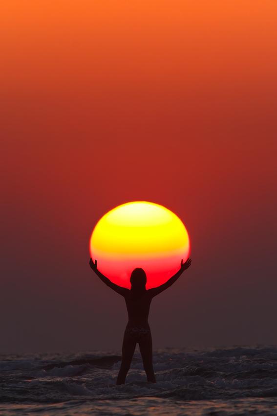 Με τον Ήλιο αγκαλιά | Φωτογραφία της ημέρας