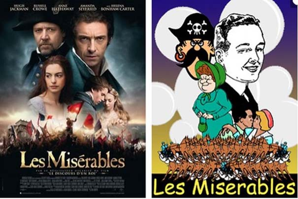 Posters ταινιών αν είχαν χαμηλό budget (5)