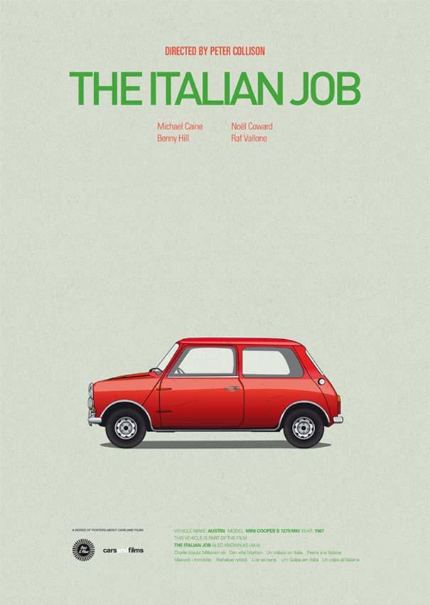 Posters ταινιών με διάσημα αυτοκίνητα (12)