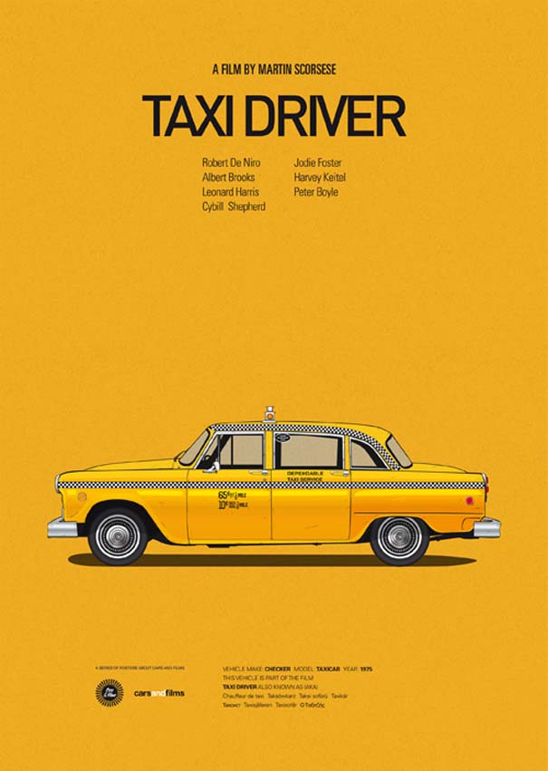 Posters ταινιών με διάσημα αυτοκίνητα (13)