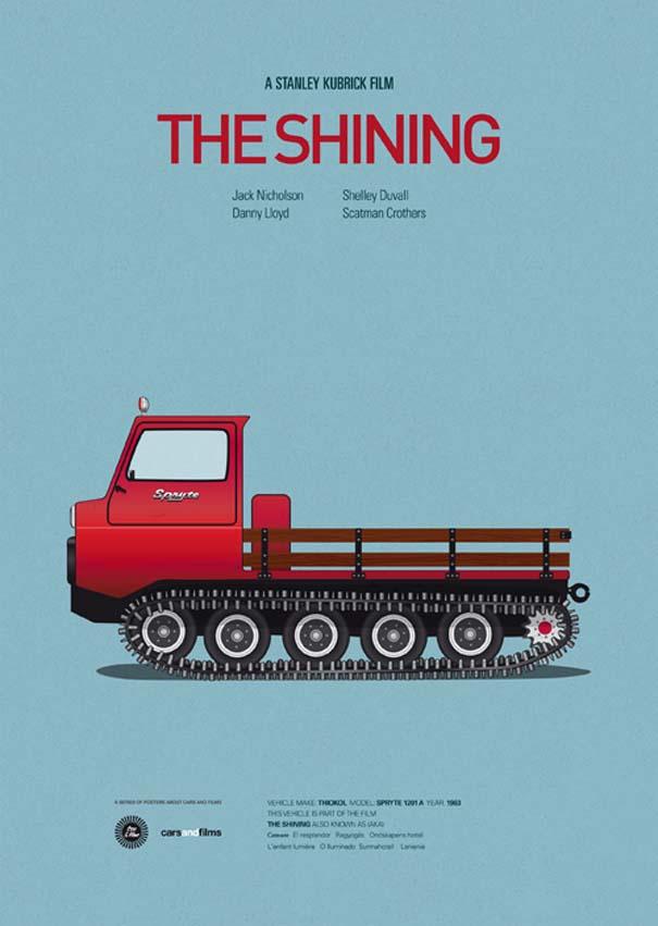 Posters ταινιών με διάσημα αυτοκίνητα (14)