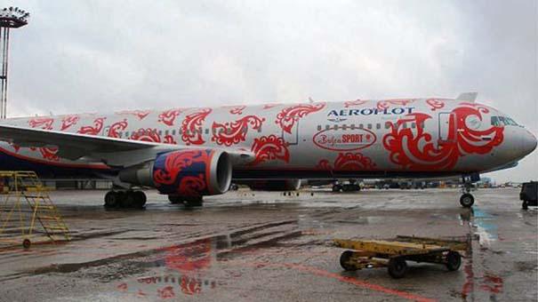 Πρωτότυπες και εντυπωσιακές βαφές αεροσκαφών (2)