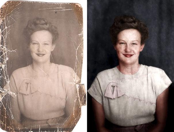 Ψηφιακή αποκατάσταση μιας παλιάς φωτογραφίας