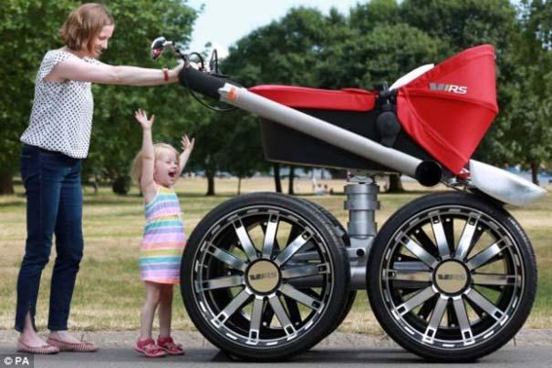 Η Skoda κατασκεύασε «αντρικό» καρότσι για μωρά (4)