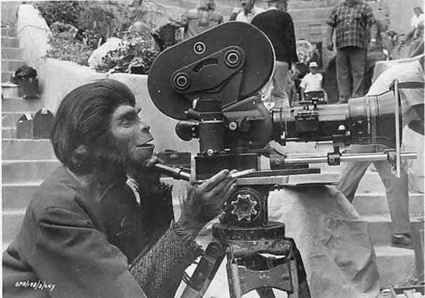 Σπάνιες φωτογραφίες από τα γυρίσματα κλασσικών ταινιών (1)