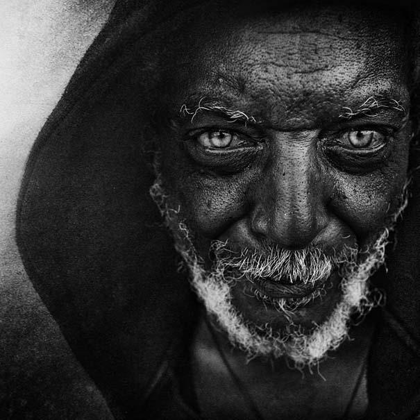 Συγκλονιστικά ασπρόμαυρα πορτραίτα αστέγων από τον Lee Jeffries (1)