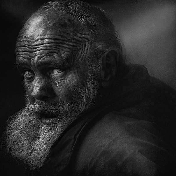 Συγκλονιστικά ασπρόμαυρα πορτραίτα αστέγων από τον Lee Jeffries (12)