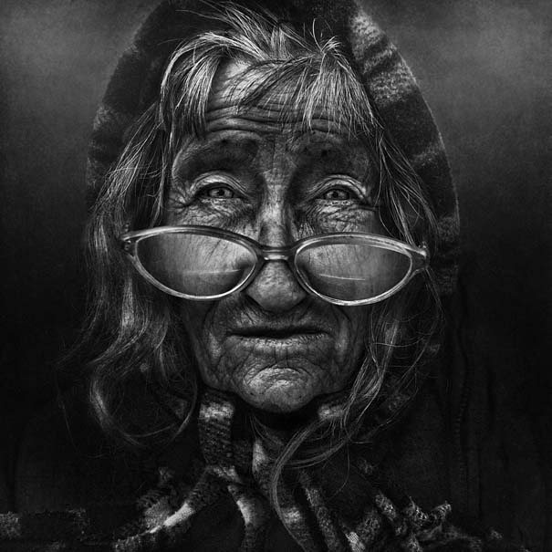 Συγκλονιστικά ασπρόμαυρα πορτραίτα αστέγων από τον Lee Jeffries (18)