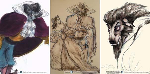 Χαρακτήρες της Disney που θα μπορούσαν να είναι τελείως διαφορετικοί (6)