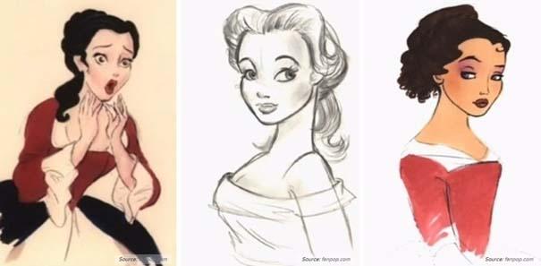 Χαρακτήρες της Disney που θα μπορούσαν να είναι τελείως διαφορετικοί (7)