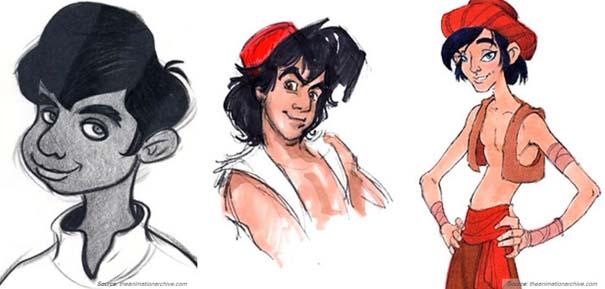 Χαρακτήρες της Disney που θα μπορούσαν να είναι τελείως διαφορετικοί (9)