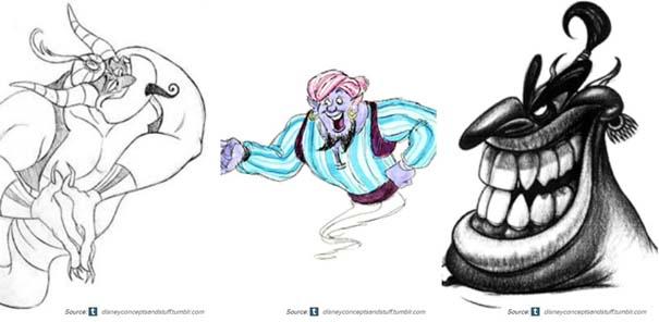 Χαρακτήρες της Disney που θα μπορούσαν να είναι τελείως διαφορετικοί (11)