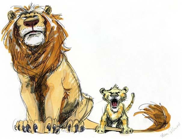 Χαρακτήρες της Disney που θα μπορούσαν να είναι τελείως διαφορετικοί (14)