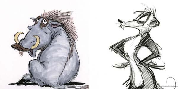 Χαρακτήρες της Disney που θα μπορούσαν να είναι τελείως διαφορετικοί (15)