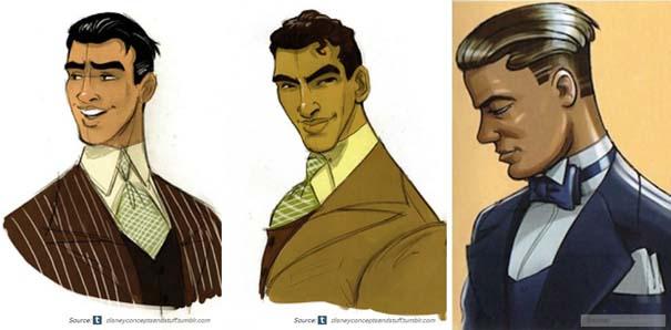 Χαρακτήρες της Disney που θα μπορούσαν να είναι τελείως διαφορετικοί (16)