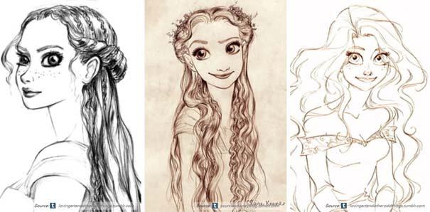 Χαρακτήρες της Disney που θα μπορούσαν να είναι τελείως διαφορετικοί (18)