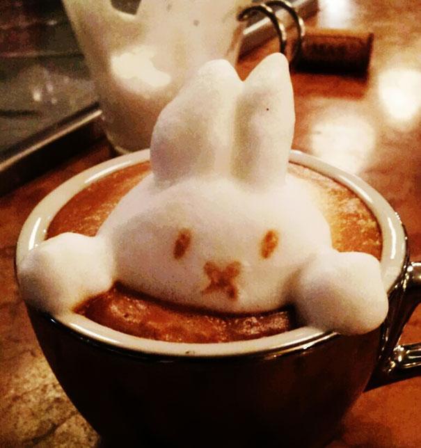 Υπέροχη τέχνη σε καφέ (7)