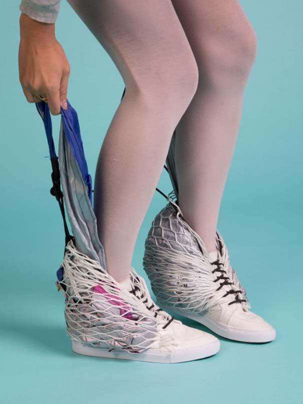 Αλλόκοτα παπούτσια που μετατρέπονται σε καταφύγιο (2)