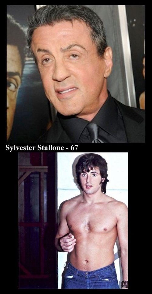 Άνδρες ηθοποιοί τότε και τώρα (5)