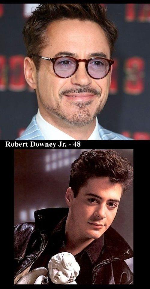 Άνδρες ηθοποιοί τότε και τώρα (7)