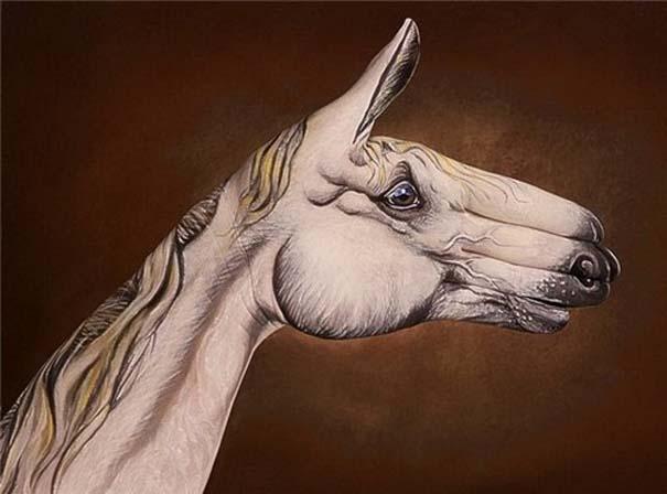 Απίστευτες ζωγραφιές ζώων σε ανθρώπινα χέρια (17)