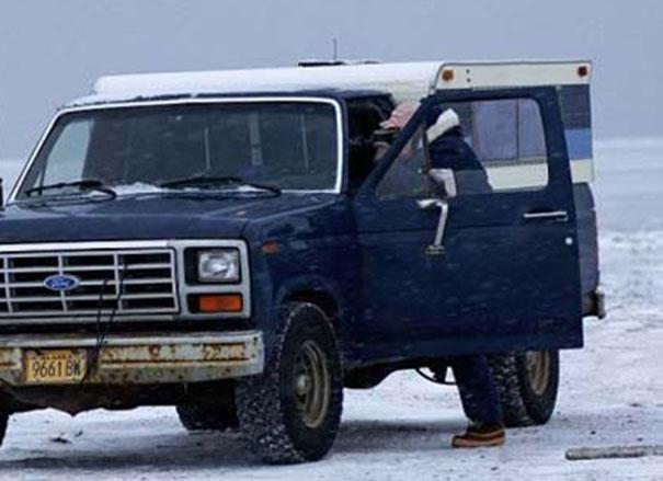 Απροσδόκητη συνάντηση στην Αλάσκα