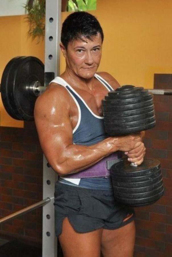 Δεν θα ήθελες να τα βάλεις με αυτή τη γυναίκα... (13)