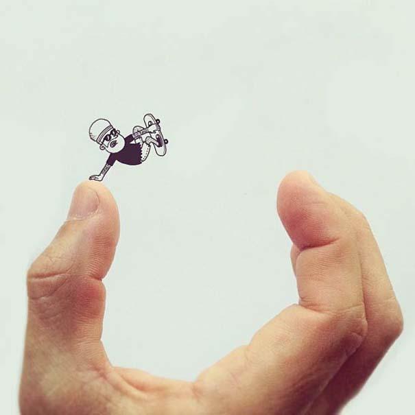 Διασκεδαστικές δημιουργίες στο Instagram από τον Alex Solis (19)