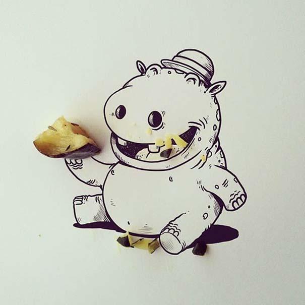Διασκεδαστικές δημιουργίες στο Instagram από τον Alex Solis (21)