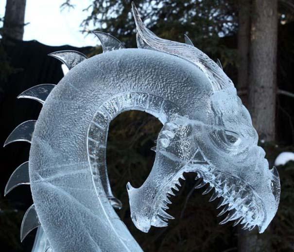 Εκπληκτικά έργα τέχνης από ένα κομμάτι πάγου (2)