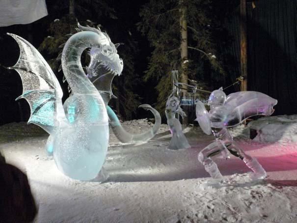 Εκπληκτικά έργα τέχνης από ένα κομμάτι πάγου (8)