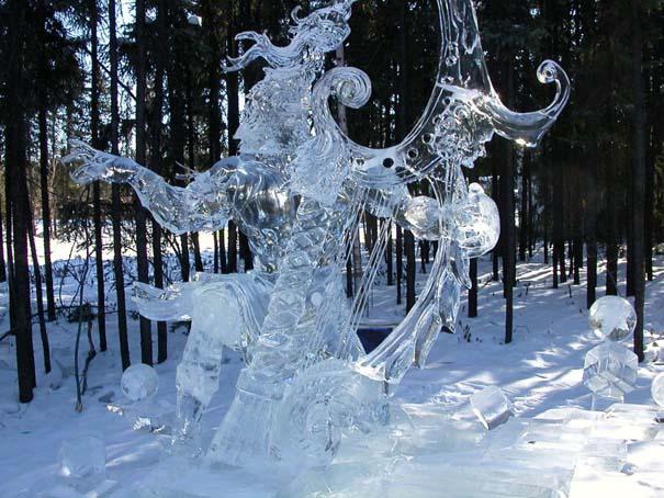 Εκπληκτικά έργα τέχνης από ένα κομμάτι πάγου (9)