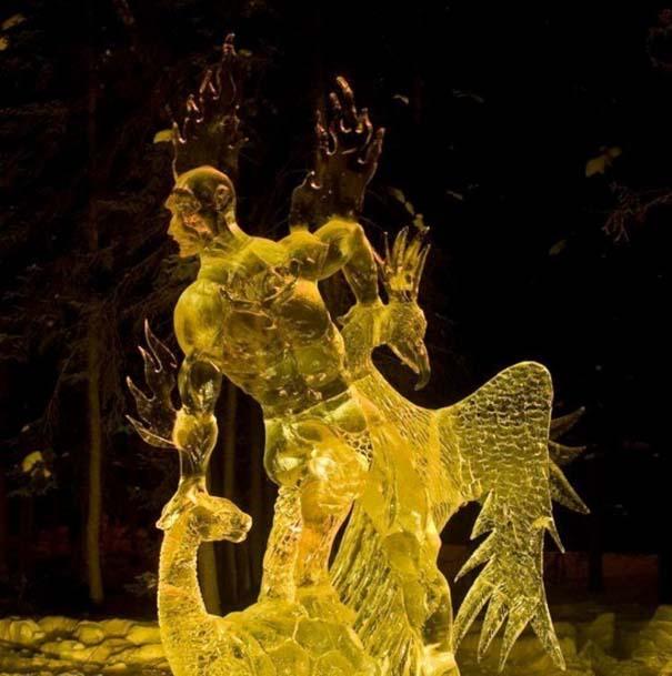Εκπληκτικά έργα τέχνης από ένα κομμάτι πάγου (10)
