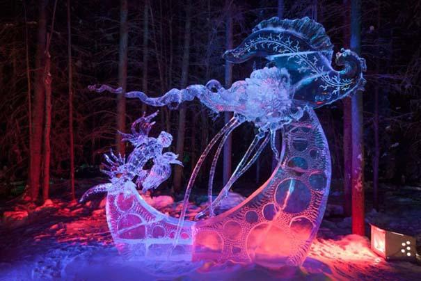 Εκπληκτικά έργα τέχνης από ένα κομμάτι πάγου (16)