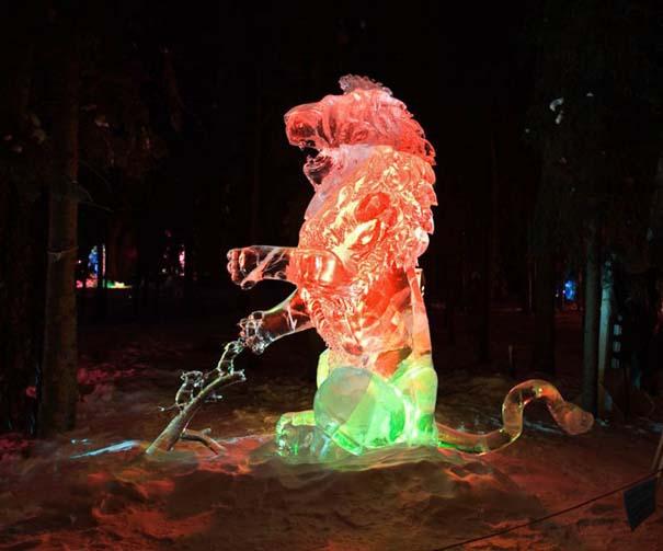 Εκπληκτικά έργα τέχνης από ένα κομμάτι πάγου (24)
