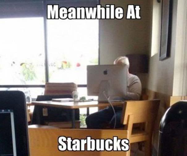 Εν τω μεταξύ, στα Starbucks... (9)