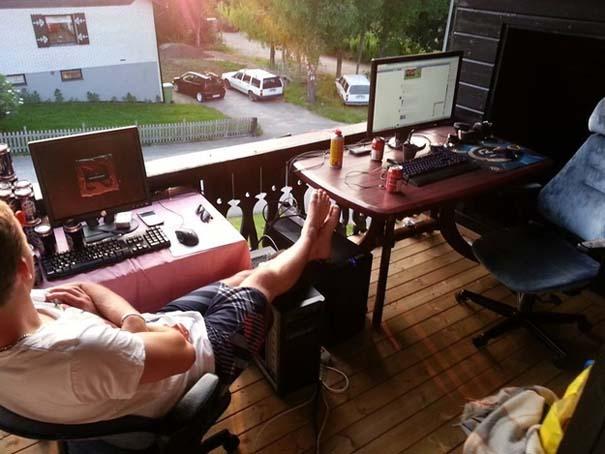 Gamers που απολαμβάνουν το καλοκαίρι (4)
