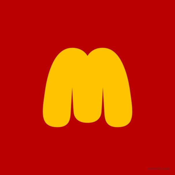 Γνωστά λογότυπα σε χιουμοριστική εκδοχή (2)