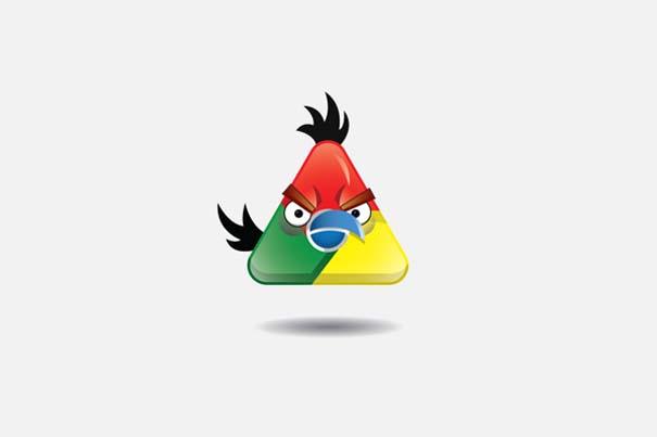 Αν 8 γνωστές εταιρείες είχαν το δικό τους Angry Bird (2)