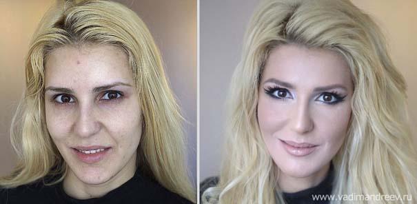 Γυναίκες με / χωρίς μακιγιάζ (10)