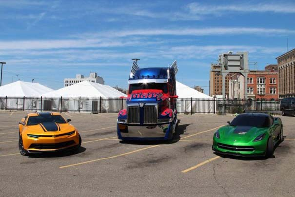 Στα γυρίσματα της ταινίας Transformers 4 (5)