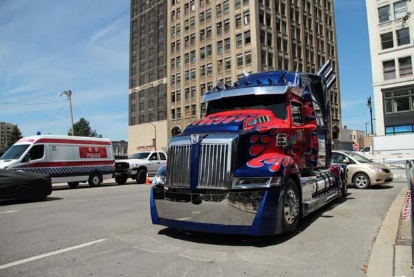 Στα γυρίσματα της ταινίας Transformers 4 (7)