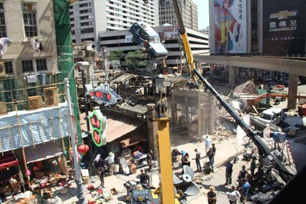 Στα γυρίσματα της ταινίας Transformers 4 (9)