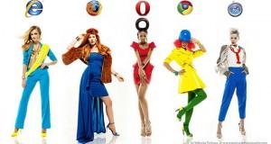 Internet Browsers με την μορφή μοντέλων