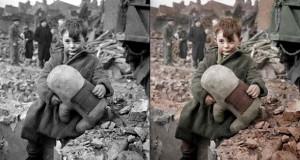 20 ιστορικές ασπρόμαυρες φωτογραφίες αποκτούν χρώμα