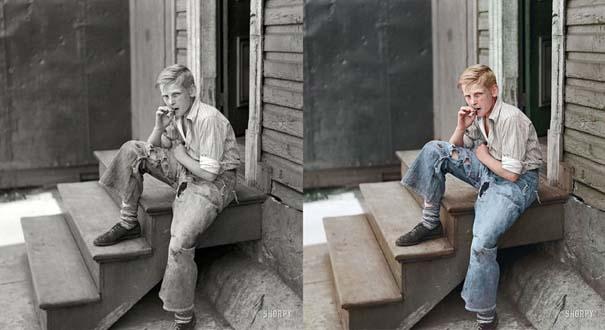 Ιστορικές ασπρόμαυρες φωτογραφίες αποκτούν χρώμα (3)
