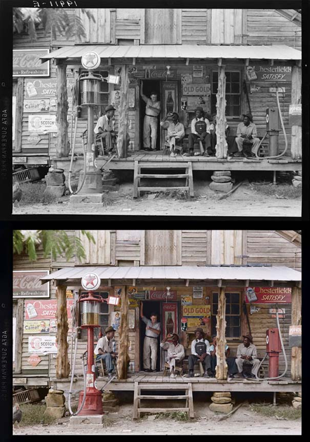 Ιστορικές ασπρόμαυρες φωτογραφίες αποκτούν χρώμα (5)