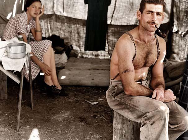 Ιστορικές ασπρόμαυρες φωτογραφίες αποκτούν χρώμα (18)