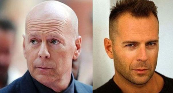 Άνδρες ηθοποιοί τότε και τώρα