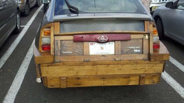 Ξυλουργός επισκεύασε το αυτοκίνητο του (3)